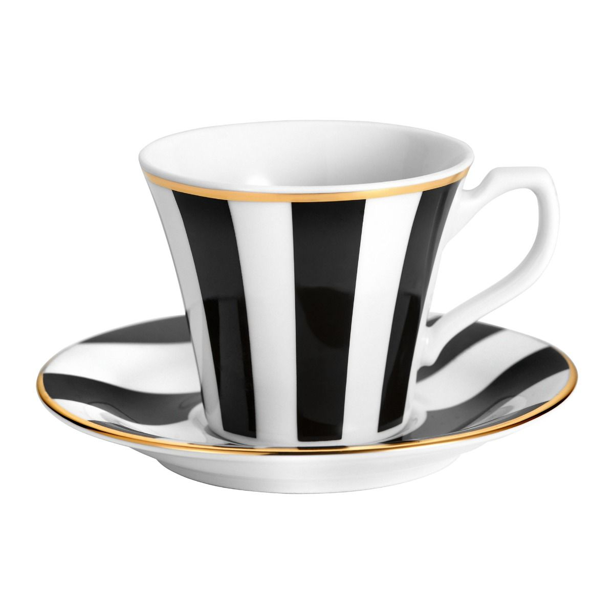 Filiżanka do espresso Stripes black