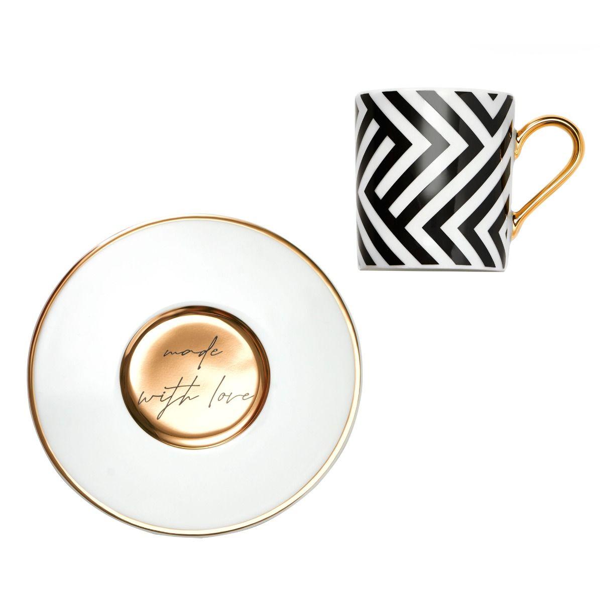 Filiżanka do espresso Milano Zigzag