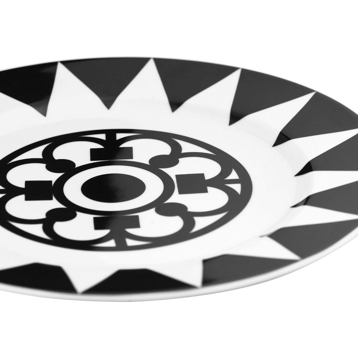 Talerz Milano II śr. 26 cm black