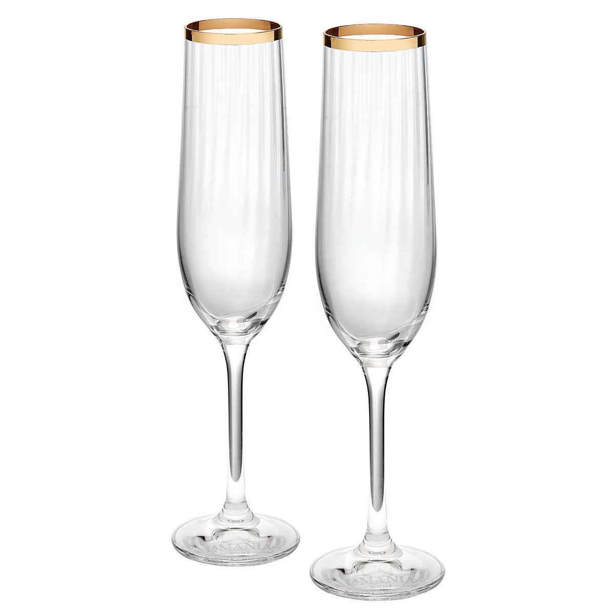 Kieliszki do szampana Spiral 2 sztuki
