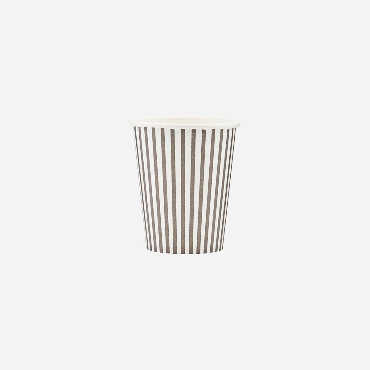 Kubeczki papierowe Stripes