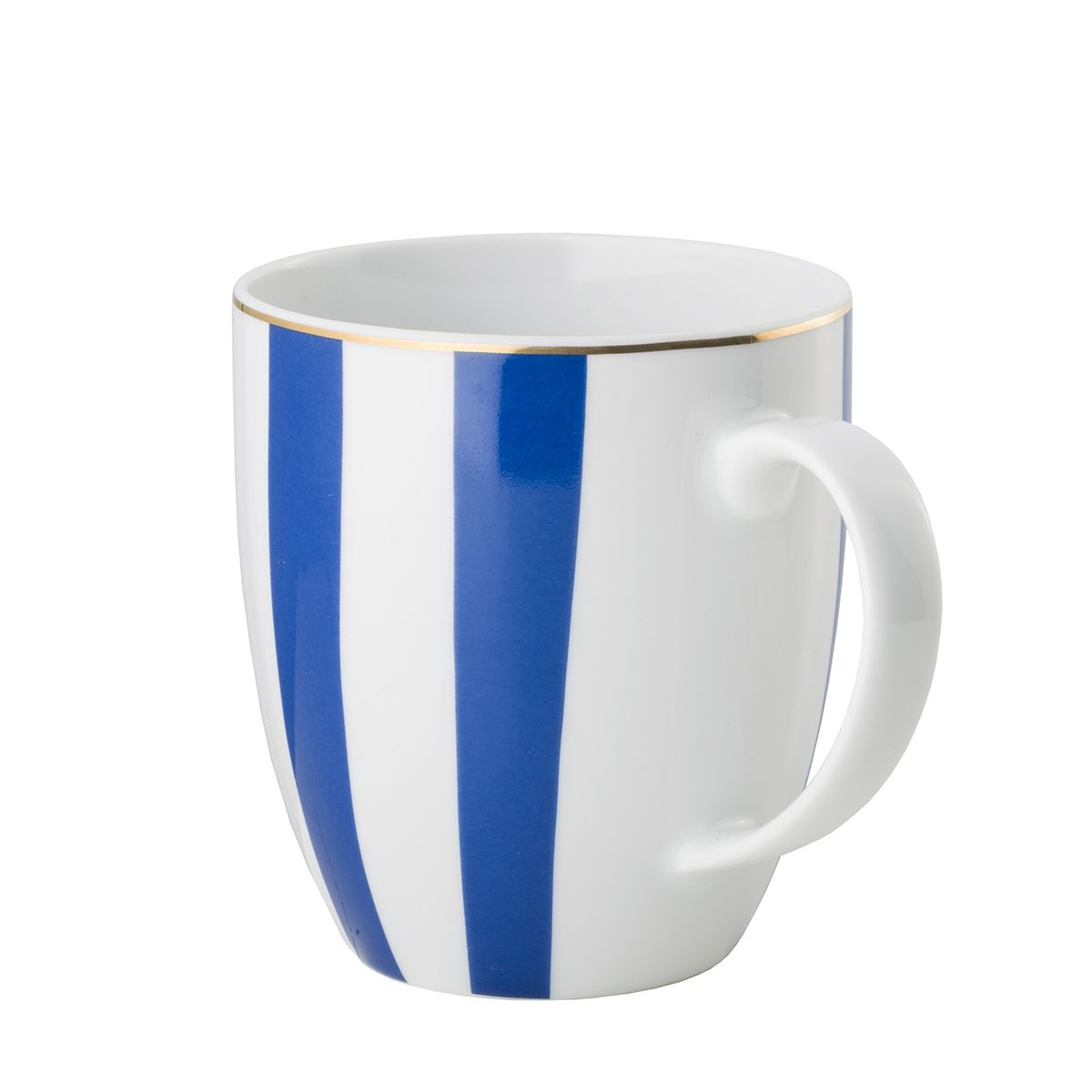 Kubek Stripes Cobalt