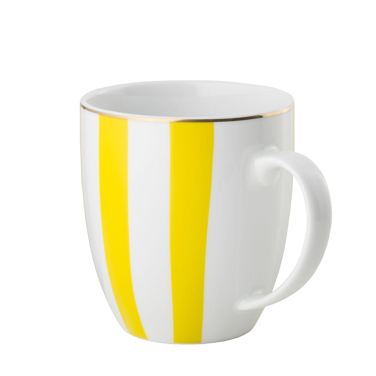 Kubek Stripes Yellow