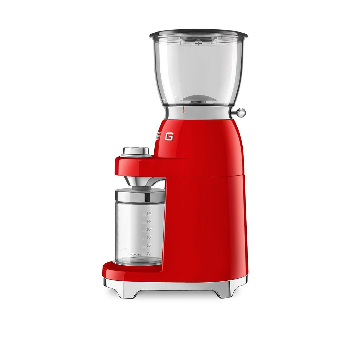 Młynek do kawy elektryczny 50's Style czerwony