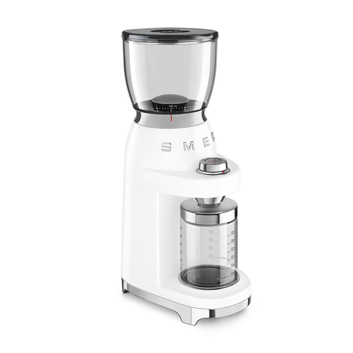 Młynek do kawy elektryczny 50's Style biały