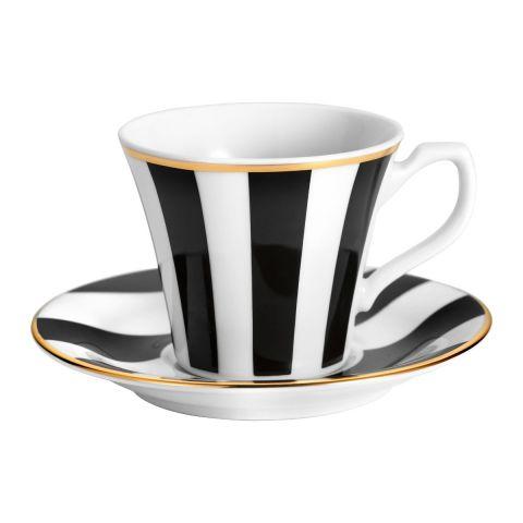 Filiżanka do espresso Stripes black