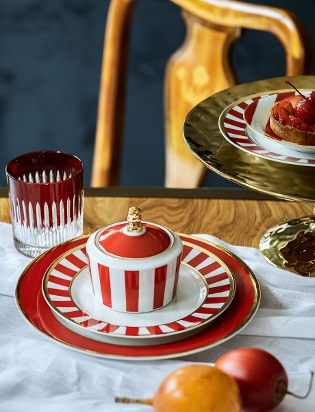 Cukiernica Stripes Red