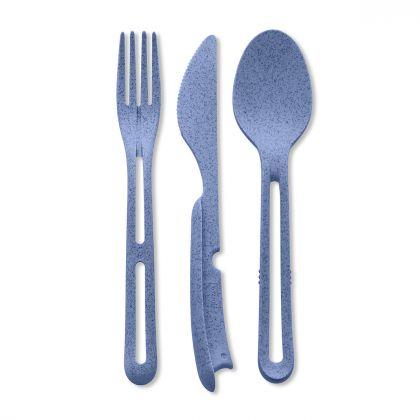 Sztućce Organic blue kpl. 3 szt.