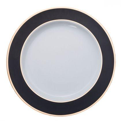 Duży talerz 32 cm Black