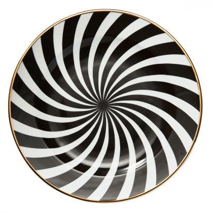 Talerz Milano II śr. 32 cm black
