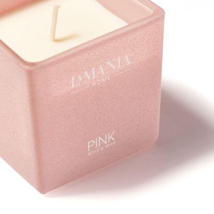 Świeca Pink Simple Mind