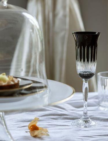 Kieliszki do szampana Molise black kpl. 6 szt.