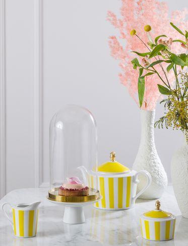 Cukiernica Stripes Yellow