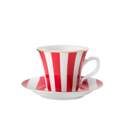 Filiżanka do espresso Stripes Red