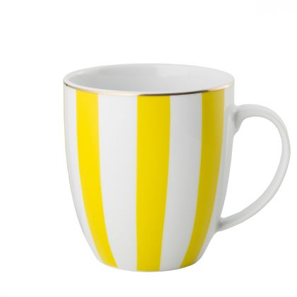 Kubek Stripes Yellow