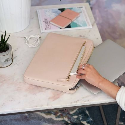 Etui na laptop Stackers Różowe