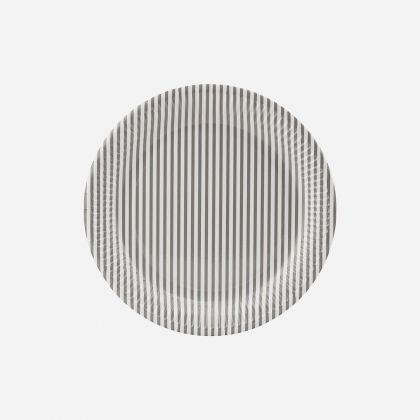 Talerzyki Papierowe Stripes