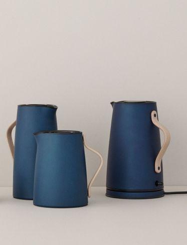 Termos do zaparzania herbaty Emma Granatowy
